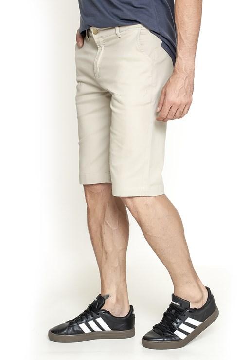 Bermuda Sarja Lemier Collection Slim Color Masculina