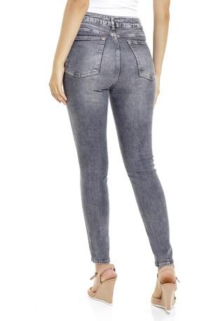 Calça Jeans Dialogo Cigarrete Cintura Alta Feminina