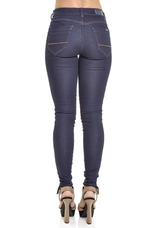 Calça Jeans Lemier Collection Skinny Fit Cintura Media Feminina