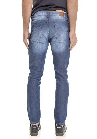 Calça Jeans Lemier Collection Slim Fit Basica Masculina