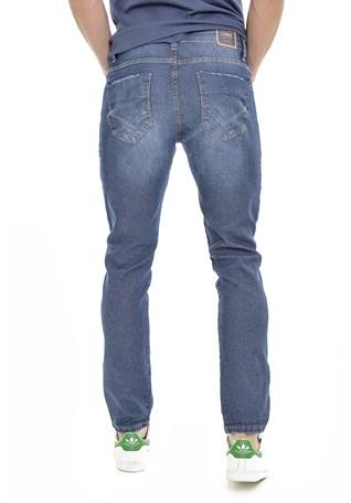 Calça Jeans Lemier Collection Slim Fit Basica Masculina