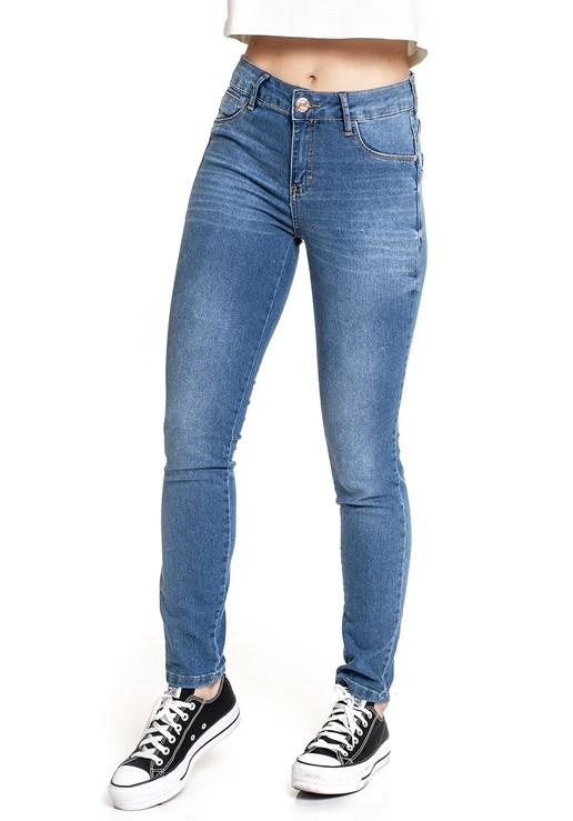 Calça Jeans Versão A Cigarrete Feminina