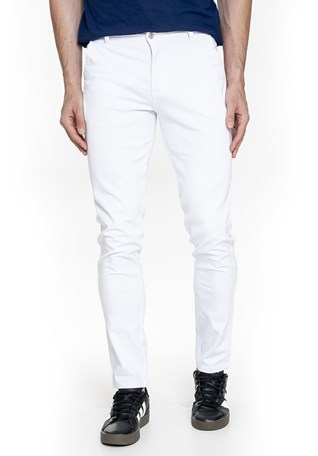Calça Sarja Lemier Collection Slim Fit Color Masculina